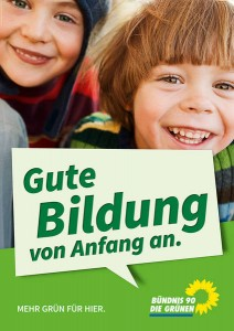Plakat Bildung