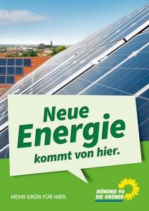 Plakat Energie