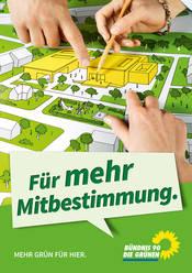 Plakat Mitbestimmung