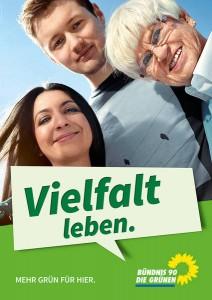 Plakat Vielfalt