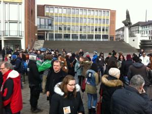 Demo Rathaus