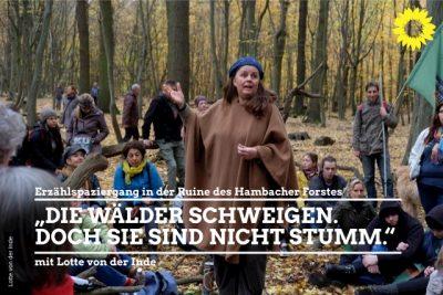 Lotte von der Inde im Hambacher Wald