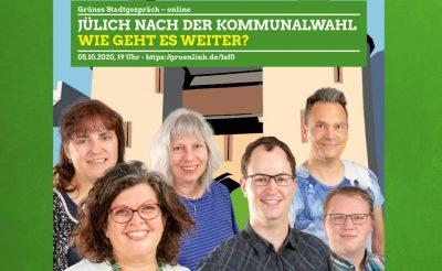 Die neue Fraktion der Jülicher Grünen